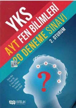 Nitelik YKS 2. Oturum AYT Fen Bilimleri 20 Deneme Sınavı