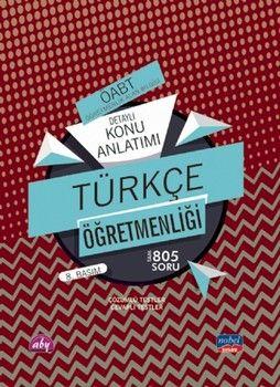 Nobel Sınav Yayınları 2020 ÖABT Türkçe Öğretmenliği Detaylı Konu Anlatımı