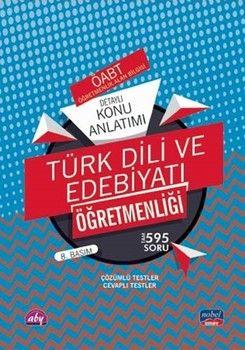 Nobel Sınav Yayınları 2020 ÖABT Türk Dili ve Edebiyatı Öğretmenliği Detaylı Konu Anlatımı