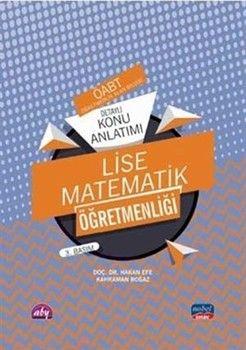 Nobel Sınav Yayınları 2020 ÖABT Lise Matematik Öğretmenliği Detaylı Konu Anlatımı