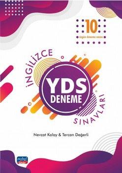 Nobel Sınav Yayınları YDS İngilizce Sınavları 10 Özgün Deneme