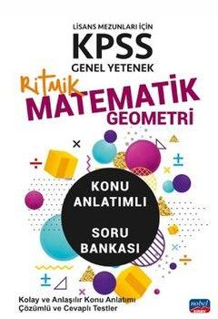 Nobel Sınav Yayınları KPSS Genel Yetenek Matematik Geometri Ritmik Konu Anlatımlı Soru Bankası