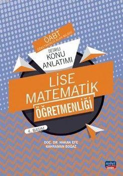 Nobel Sınav Yayınları ÖABT Lise Matematik Öğretmenliği Detaylı Konu Anlatımı