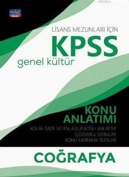 Nobel Sınav Yayınları KPSS Lisans Coğrafya Genel Kültür Konu Anlatımı