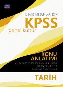 Nobel Sınav Yayınları KPSS Lisans Tarih Genel Kültür Konu Anlatımı