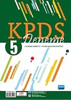 Nobel Sınav Yayınları KPDS 5 Deneme