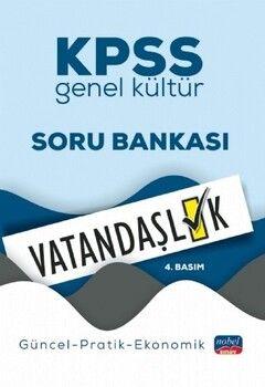 Nobel Sınav Yayınları KPSS Genel Kültür Vatandaşlık Soru Bankası