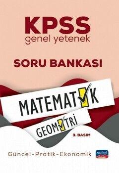 Nobel Sınav Yayınları KPSS Genel Yetenek Matematik Geometri Soru Bankası