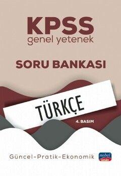 Nobel Sınav Yayınları KPSS Genel Yetenek Türkçe Soru Bankası