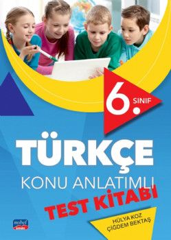 Nobel Sınav Yayınları 6. Sınıf Türkçe Konu Anlatımlı Test Kitabı