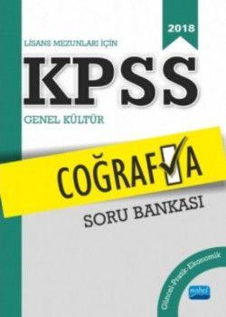 Nobel Yayınları 2018 KPSS Coğrafya Soru Bankası