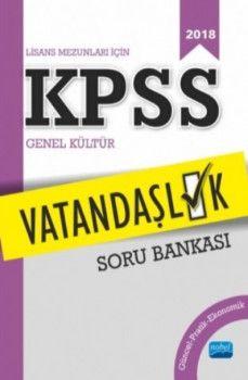 Nobel Yayınları 2018 KPSS Vatandaşlık Soru Bankası
