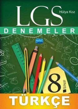 Nobel Yayınları 8. Sınıf LGS Türkçe Denemeler