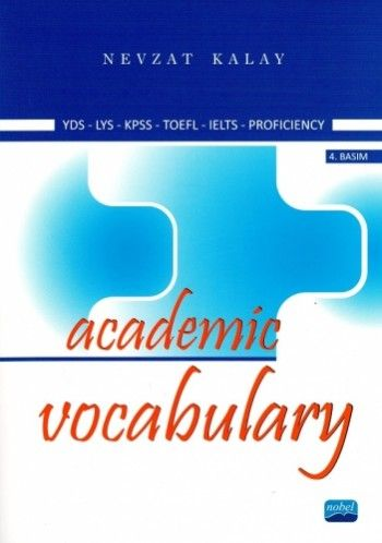 Nobel Yayınları Academic Vocabulary