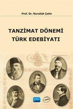 Nobel Yayınları Tanzimat Dönemi Türk Edebiyatı