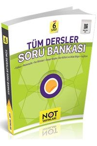 Not Yayınları 6. Sınıf Tüm Dersler Soru Bankası