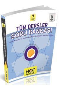 Not Yayınları 7. Sınıf Tüm Dersler Soru Bankası