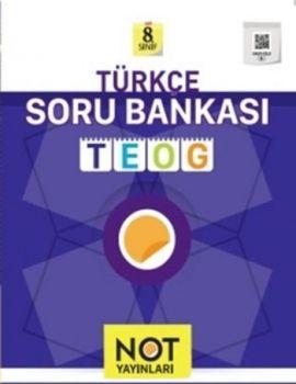 Not Yayınları 8. Sınıf Türkçe Soru Bankası