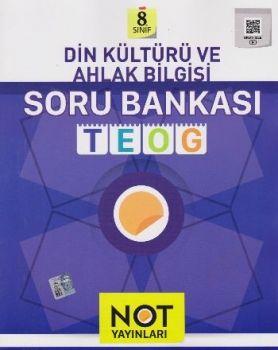 Not Yayınları 8. Sınıf TEOG Din Kültürü ve Ahlak Bilgisi Soru Bankası