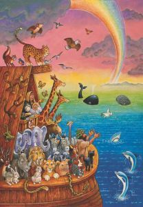Nuh\'un Gemisi Noah & The Rainbow260 Parça Yapboz