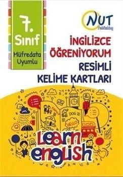 Nut Publishing 7. Sınıf İngilizce Öğreniyorum Resimli Kelime Kartları
