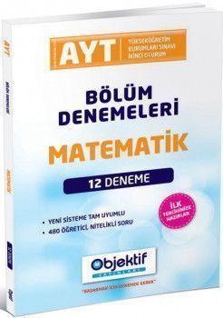 Objektif Yayınları AYT Matematik 12 li Bölüm Denemeleri
