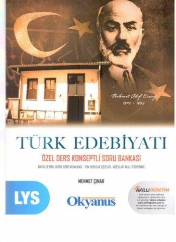 Okyanus LYS Türk Edebiyatı Özel Ders Konseptli Soru Bankası