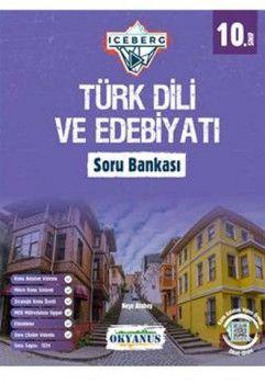 Okyanus Yayınları 10. Sınıf Türk Dili ve Edebiyatı Iceberg Soru Bankası