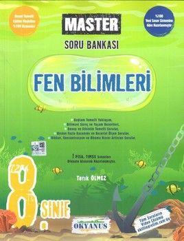 Okyanus Yayınları 8. Sınıf Fen Bilimleri Master Soru Bankası