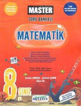Okyanus Yayınları 8. Sınıf Matematik Master Soru Bankası