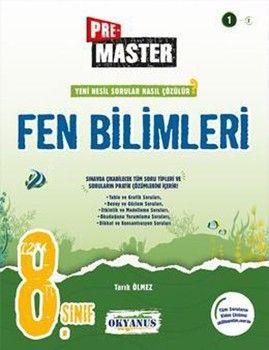 Okyanus Yayınları 8. Sınıf Premaster Fen Bilimleri Soru Bankası