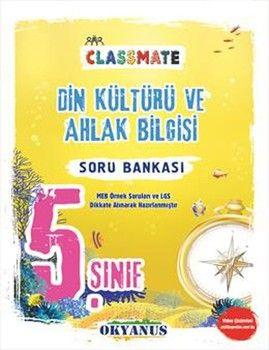 Okyanus Yayınları 5. Sınıf Din Kültürü Ve Ahlak Bilgisi Classmate Soru Bankası