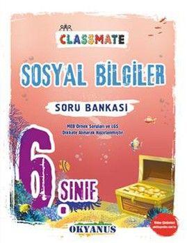 Okyanus Yayınları 6. Sınıf Sosyal Bilgiler Classmate Soru Bankası