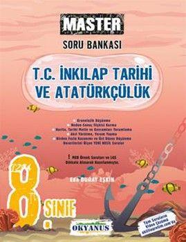 Okyanus Yayınları 8. Sınıf Master T. C. İnkılap Tarihi Ve Atatürkçülük Soru Bankası