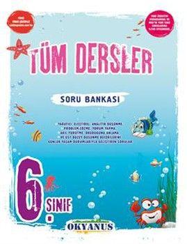 Okyanus Yayınları 6. Sınıf Tüm Dersler Soru Bankası