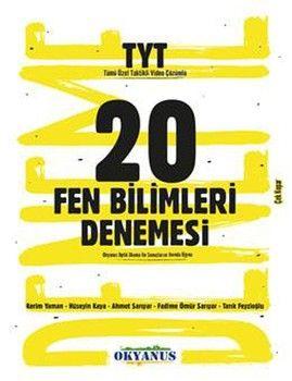 Okyanus Yayınları TYT Fen Bilimleri 20 Denemesi