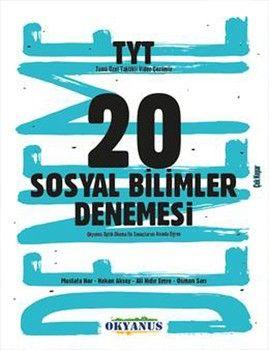 Okyanus Yayınları TYT Sosyal Bilimler 20 Denemesi