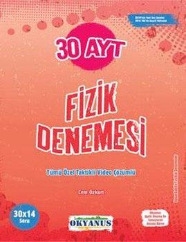 Okyanus Yayınları AYT Fizik 30 Denemesi