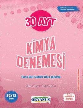 Okyanus Yayınları AYT Kimya 30 Denemesi