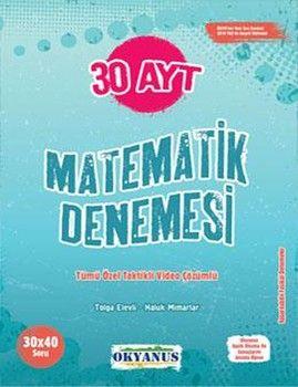 Okyanus Yayınları AYT Matematik 30 Denemesi