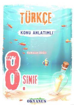 Okyanus Yayınları 8. Sınıf Türkçe Konu Anlatımlı