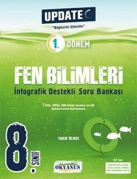 Okyanus Yayınları 8. Sınıf 1. Dönem Fen Bilimleri İnfografik Destekli Update Soru Bankası