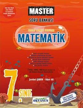 Okyanus Yayınları 7. Sınıf Matematik Master Soru Bankası