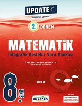 Okyanus Yayınları 8. Sınıf 2. Dönem Matematik Update İnfografik Soru Bankası