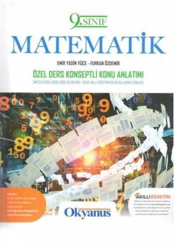 Okyanus Yayınları 9. Sınıf Matematik Geometri  Özel Ders Konseptli Konu Anlatımlı