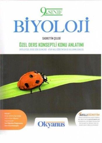Okyanus Yayınları 9. Sınıf Biyoloji Özel Ders Konseptli Konu Anlatımlı