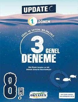 Okyanus Yayınları 8. Sınıf LGS 1. Dönem Update 3 Genel Deneme