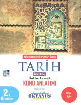 Okyanus Yayınları YKS 2. Oturum Tarih Özel Ders Konseptli Konu Anlatımı 2. Kitap