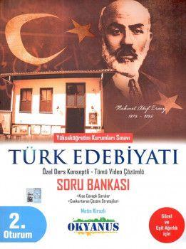 Okyanus Yayınları YKS 2. Oturum Türk Edebiyatı Özel Ders Konseptli Soru Bankası