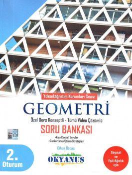 Okyanus Yayınları YKS 2. Oturum Geometri Özel Ders Konseptli Soru Bankası